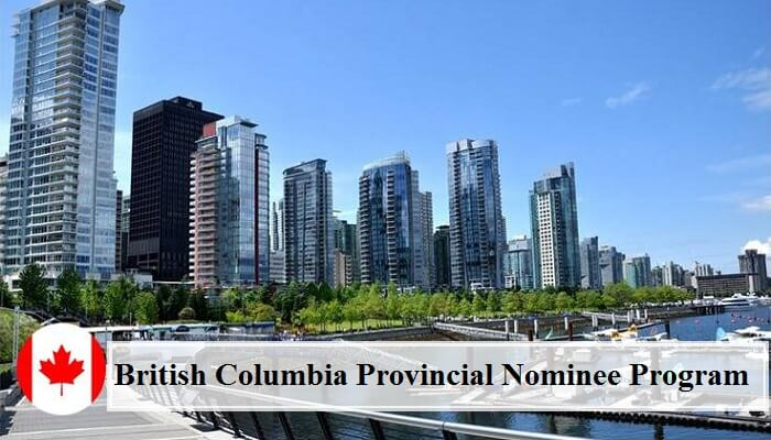 british columbia pnp program 2018
