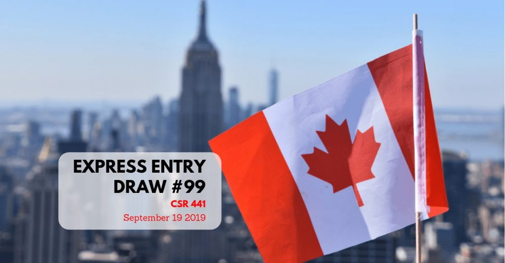 Latest Express Entry Draw 99 |