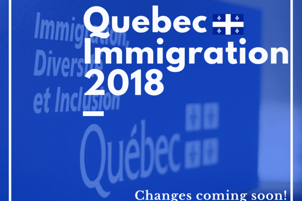 Quebec immigration 2018